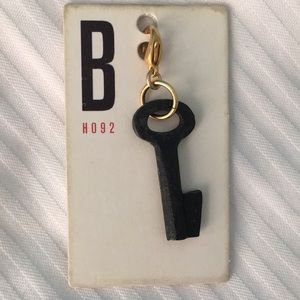 Anthropologie Vintage Key Charm